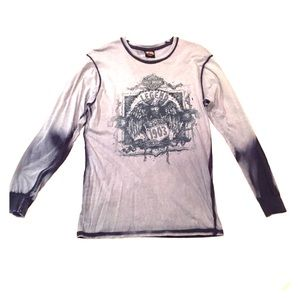 Authentic Harley-Davidson Long Sleeve T-Shirt - M